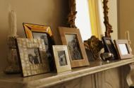 Aranjamente decorative cu fotografii de familie