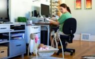 Mamele care lucreaza cu jumatate de norma sunt mai fericite decat cele casnice sau care lucreaza cu norma intreaga