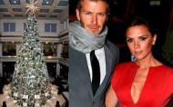 Cum sarbatoresc vedetele Craciunul: Victoria Beckham a cheltuit 40.000 de euro pe decoratiuni de Craciun