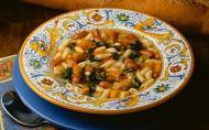 Supa de fasole cu cimbru