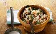Salata de verdeturi cu orez