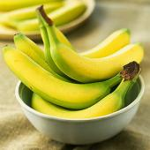 Fructe medicament: Banana, sursa principala de potasiu, fier si vitamina B