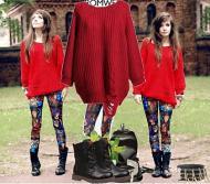 Colanti sau leggings, trend pentru o toamna chic din 2012