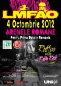 Concert LMFAO la Arenele Romane din Bucuresti