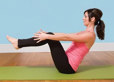 3 exercitii pentru un abdomen plat