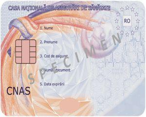 Cardul national de sanatate este obligatoriu de la 1 septembrie