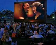 Cinema in aer liber in parcul IOR din Capitala