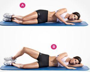 4 exercitii pentru un posterior de invidiat