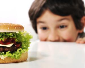 Reclamele la produsele fast food cresc rata obezitatii in randul copiilor