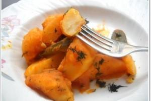 Reteta de post - Mancare de cartofi