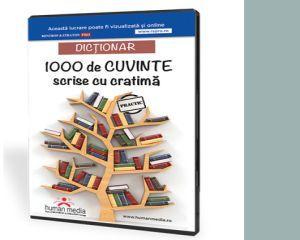 Dictionar - 1000 de cuvinte cu cratima, pentru copii si nu numai!