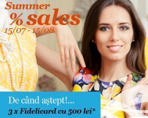 Reduceri de pana la 70% in magazinele din Bucuresti Mall
