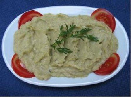 Reteta de post - Salata de vinete cu ceapa