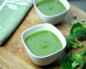 Supa crema de broccoli si spanac
