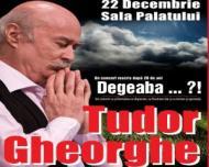 Spectacol Tudor Gheorghe la Sala Palatului din Bucuresti